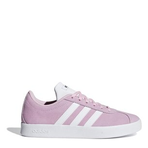 adidas VL Court Suede Junior Girls Trainers