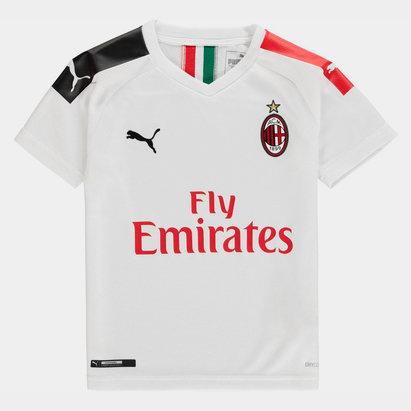 Puma AC Milan 19/20 Kids Away S/S Football Shirt