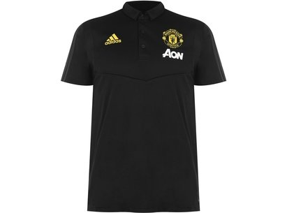 adidas Manchester United 19/20 Football Polo Shirt