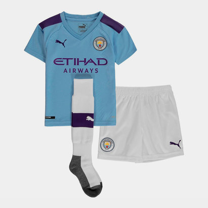 Puma Manchester City Home Mini Kit 2019 2020