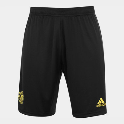 adidas Manchester United Training Shorts 2019 2020 Mens