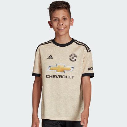 adidas Manchester United 19/20 Kids Away S/S Football Shirt