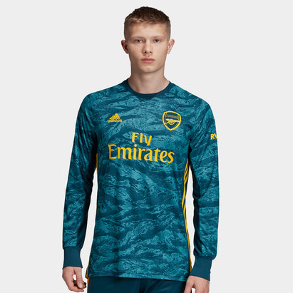 adidas Arsenal 19/20 Home Goalkeeper L/S Football Shirt