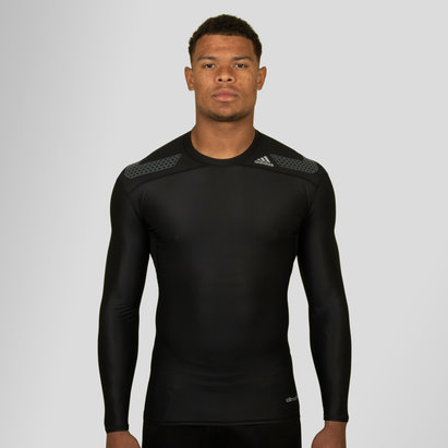adidas Techfit PowerWeb Climachill L/S Baselayer T-Shirt