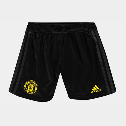 adidas Manchester United Training Shorts 2019 2020 Junior