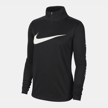Nike Swoosh Midlayer Zip Top Ladies