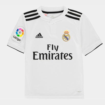 adidas Real Madrid Logo Home Jersey