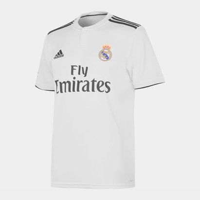 adidas Real Madrid 18/19 Home Replica Football Shirt