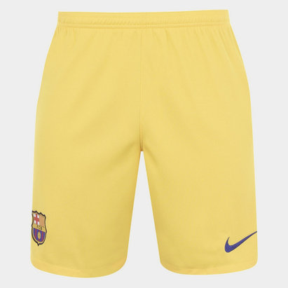 Nike FC Barcelona 19/20 Away Football Shorts