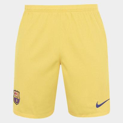Nike FC Barcelona 19/20 Away Football Shorts