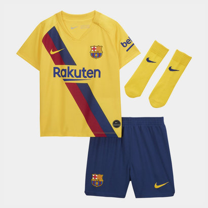 Nike FC Barcelona 19/20 Away Mini Kit