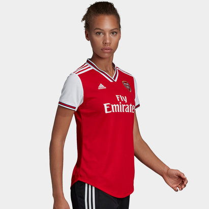 adidas Arsenal 19/20 Ladies Home S/S Football Shirt
