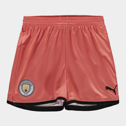 Puma Manchester City 19/20 Kids 3rd Football Shorts