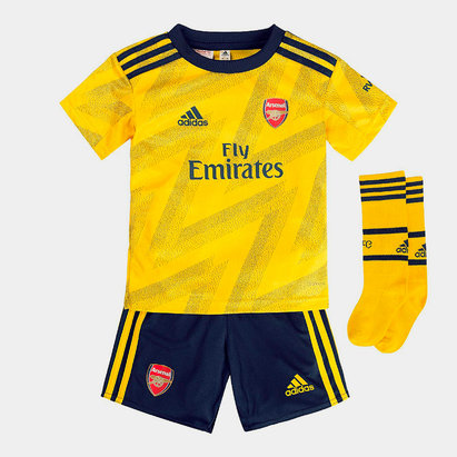 adidas Arsenal 19/20 Away Mini Kids Football Kit