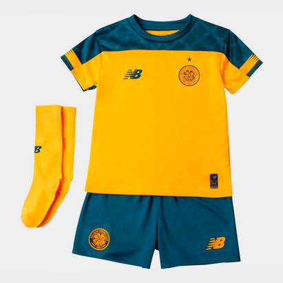 New Balance Celtic 19/20 Away Mini Kids Football Kit