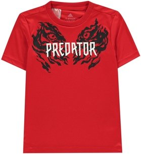 adidas Predator T Shirt Junior Boys