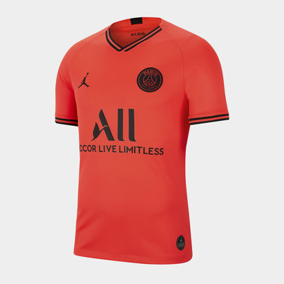 Nike Paris Saint Germain x Jordan Away Shirt 2019 2020