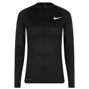 Nike Pro Warm Mock Top Mens