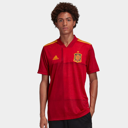 adidas Spain 2020 Home Replica Football Shirt