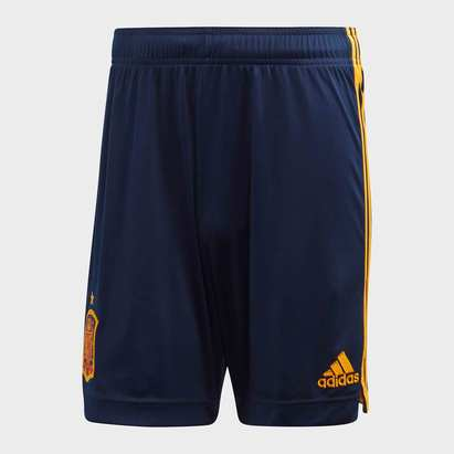 adidas Spain 2020 Home Football Shorts
