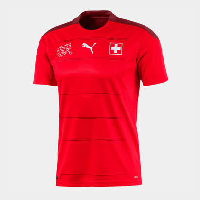 Puma Switzerland 2020 Home Football Shirt