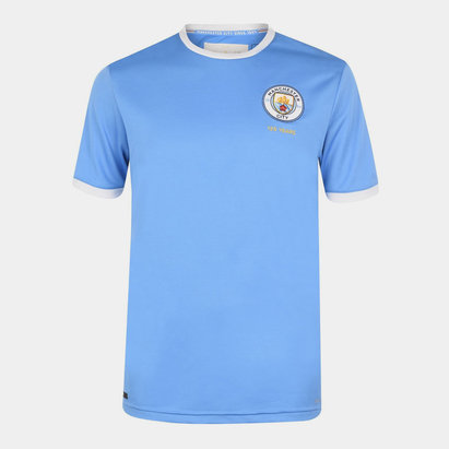 Puma Manchester City 125th Anniversary Juniors Shirt