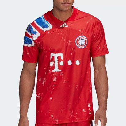 adidas Bayern x Human Race Shirt Mens