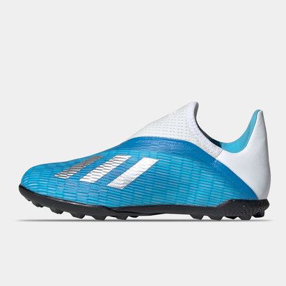 adidas X 19.3 Laceless Junior Astro Turf Trainers