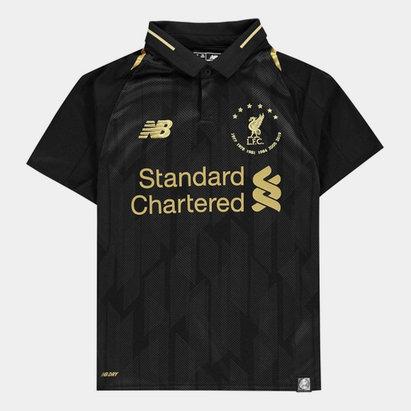 New Balance Liverpool 6 Times Football Shirt Junior
