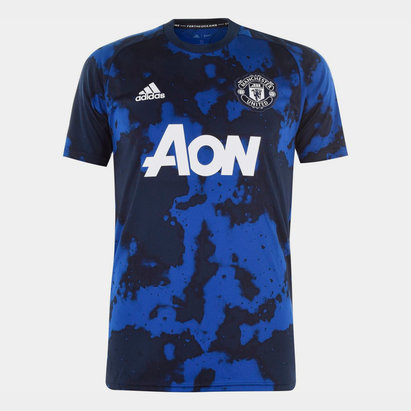 adidas Manchester United Pre Match Shirt 2019 2020 Mens