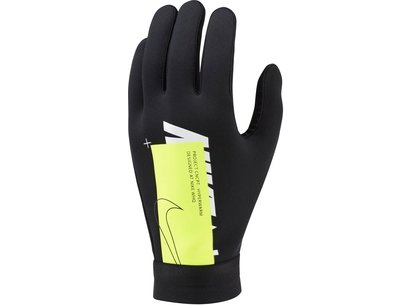 Nike Air FieldPlay Gloves Black/Volt