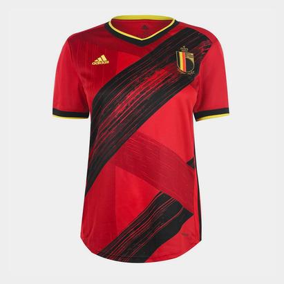 adidas Belgium Home Jersey Womens