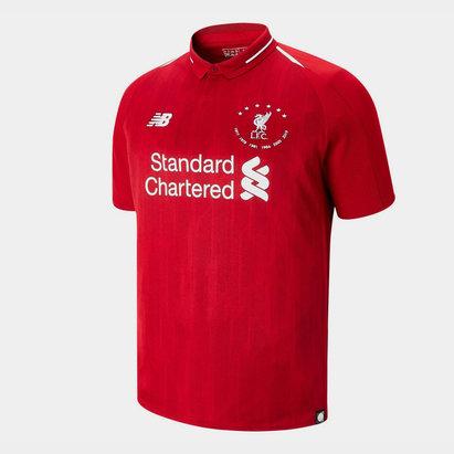 New Balance Liverpool 6 Times Football Shirt Mens