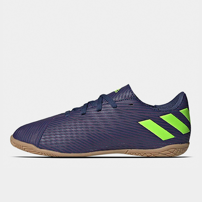 adidas Nemeziz Messi 19.4 Kids Indoor Football Trainers