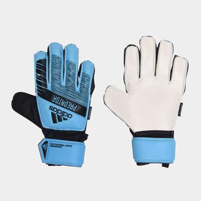 adidas Top Training Fingersave Gloves Unisex Juniors