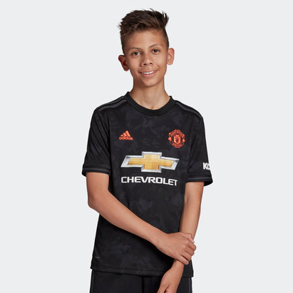 adidas Manchester United 19/20 Kids 3rd S/S Football Shirt
