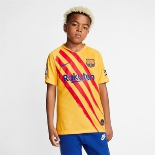 Nike Barcelona Senyera Football Shirt 19/20 Junior