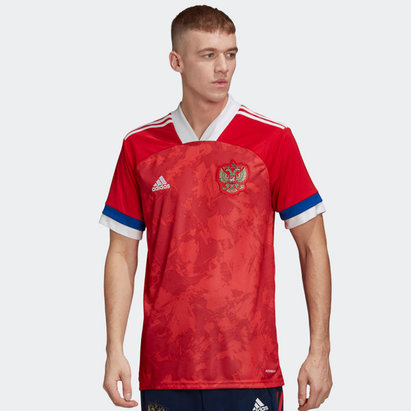 adidas Russia 2020 Home Replica Football Shirt