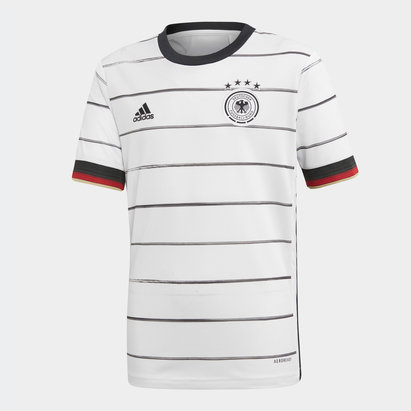 adidas Germany 2020 Home Kids Replica Football Shirt