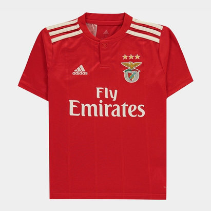 adidas Benfica Replica Shirt Boys