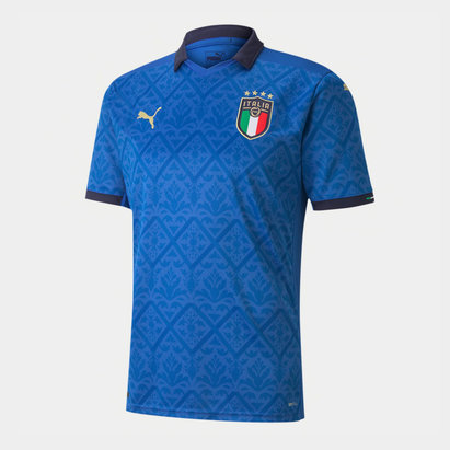 Puma Italy 2020 Kids Home Football Shirt