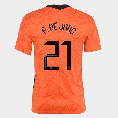 Puma Netherlands Frenkie De Jong Home Shirt 2020