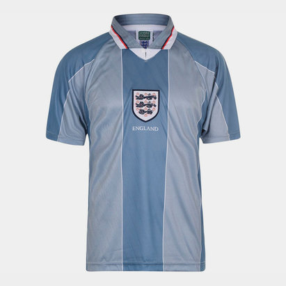 Score Draw England 96 Away Jersey Mens