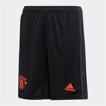 adidas Manchester United 19/20 3rd Kids Football Shorts