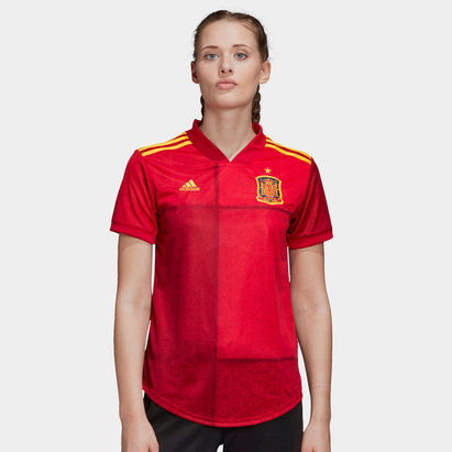 adidas Spain 2020 Home Ladies Replica Football Shirt