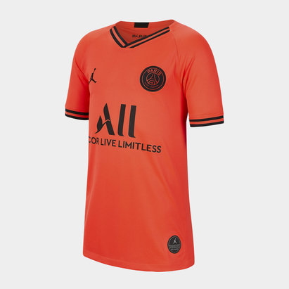 Nike Paris Saint Germain x Jordan Away Shirt 2019 2020 Junior