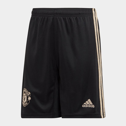 adidas Manchester United 19/20 Kids Away Football Shorts
