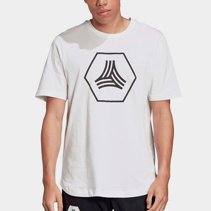 adidas Mens Football Tango Logo T Shirt