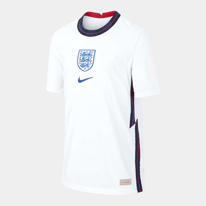 Nike England 2020 Kids Home Authentic Match Football Shirt