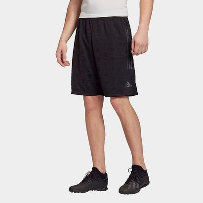 adidas Mens Football Tango Jacquard Shorts